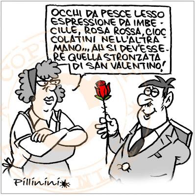 una reduce dalla festa di S. Valentino